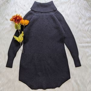 Wilfred Free Black Wool Turtleneck Sweater Size S
